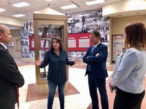 Congresswoman Angie Craig visits NPHS