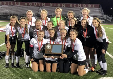 Trojan girls soccer team finish runners up in section