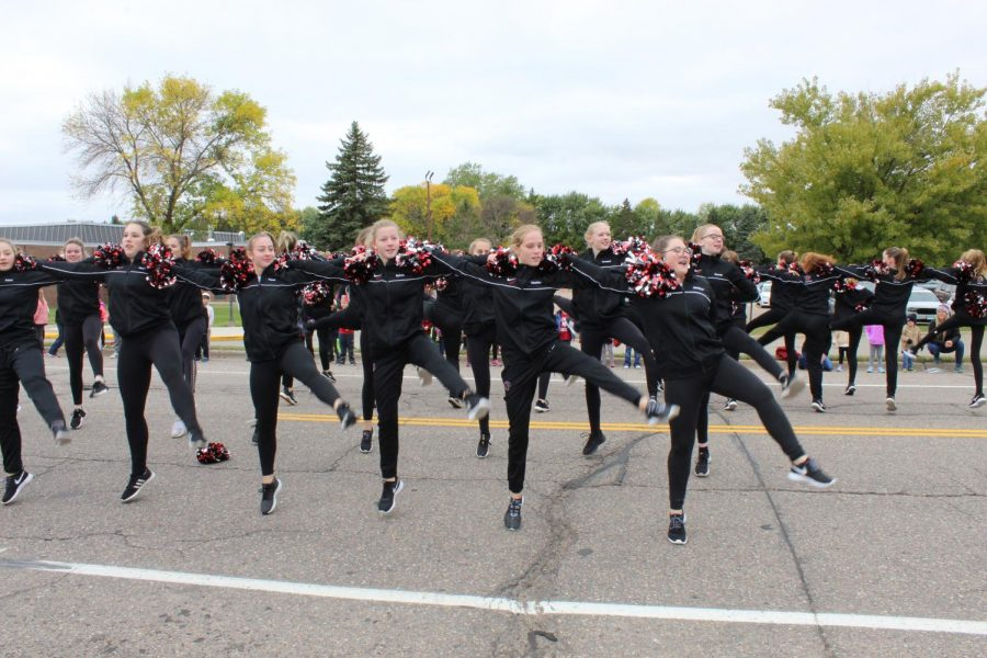 NPHS Fall Dance Team
