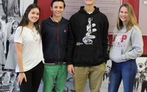 NPHS welcomes four exchange students