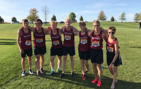 Boys Cross Country finishes first at Jordan meet