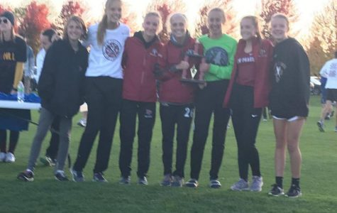 Girls Cross Country team places 2nd in Jordan