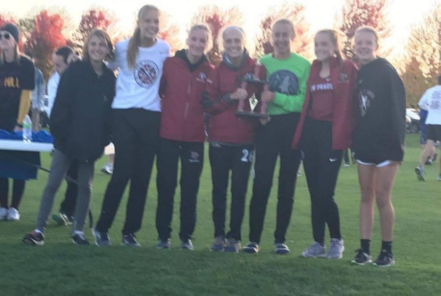Girls+cross+country+team+placed+2nd+at+Jordan+Invitational.