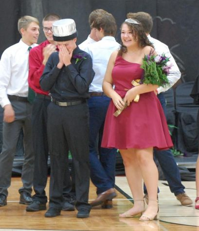 Seth Dorner and Sadie El-Wailli are 2019 Homecoming King and Queen