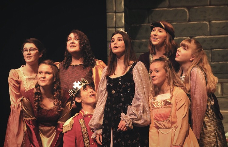 Fall+Musical+%22Once+Upon+a+Mattress%22+opens+Friday