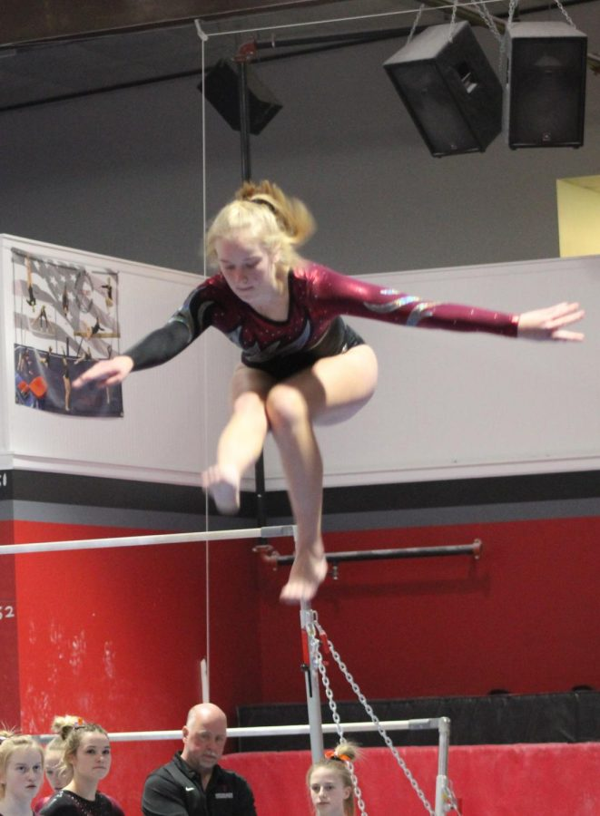 Gymnasts+fall+to+Lakeville+North