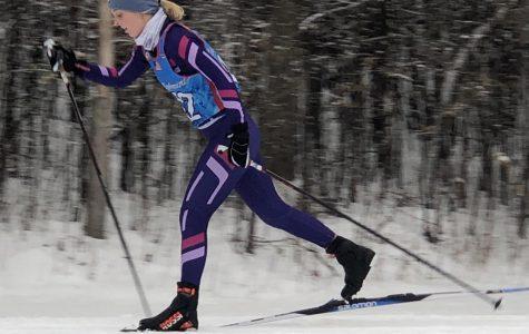 Hatlevig explores a new sport on skis