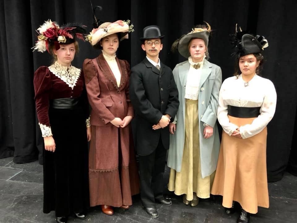 Cast of One Act Production