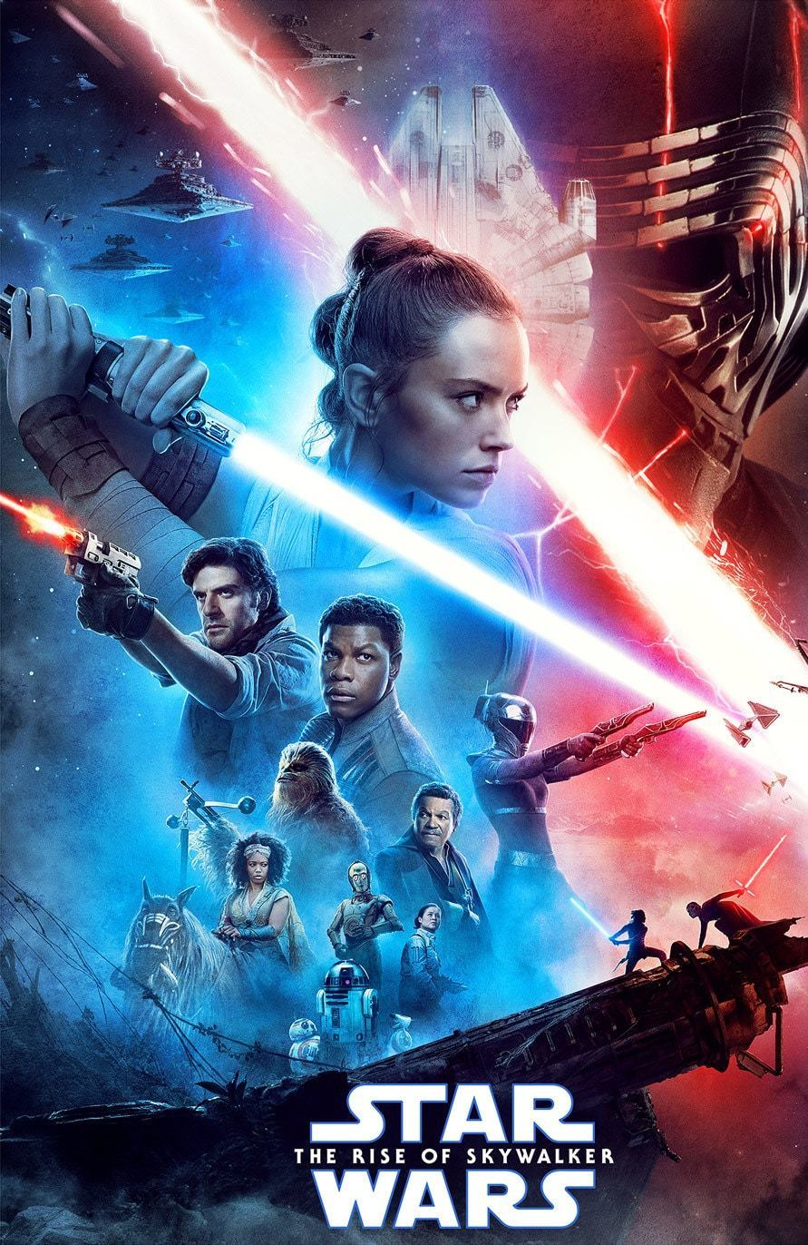 The final installment of the Star Wars series: The Rise of Skywalker gets a thumbs up from our movie critic.