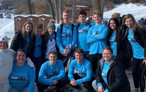 PROUD students participated in the Polar Plunge the weekend of February 15-16. Together the group raised $2,900 for Special Olympics Minnesota.