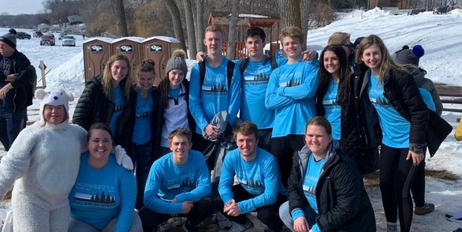 PROUD+students+participated+in+the+Polar+Plunge+the+weekend+of+February+15-16.+Together+the+group+raised+%242%2C900+for+Special+Olympics+Minnesota.