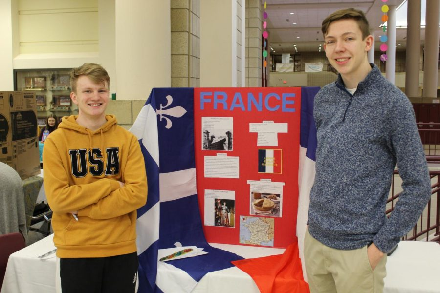 France was well represented at the fair as well.