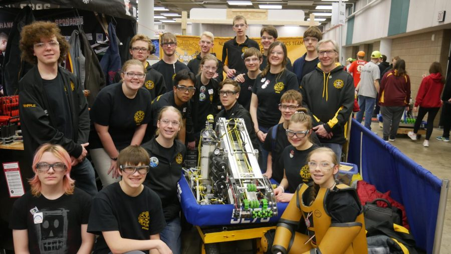 Congratulations+to+the+Trojan+Robotics+team%2C+The+Timebots%2C+for+their+12th+place+finish+at+the+Duluth+competition.