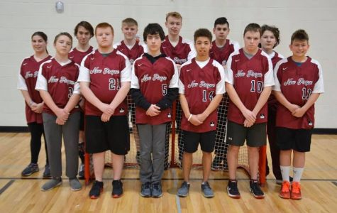 Trojan adapted floor hockey team qualifies for state; state tournament cancelled