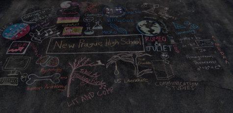 Inspiration in chalk
