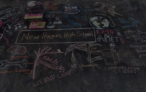 Inspiration in chalk