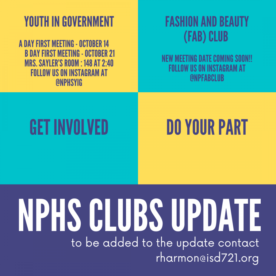 Clubs Update