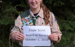 Rebecca Meger was one of the first female scouts to earn Eagle Scout honors in the state of Minnesota.