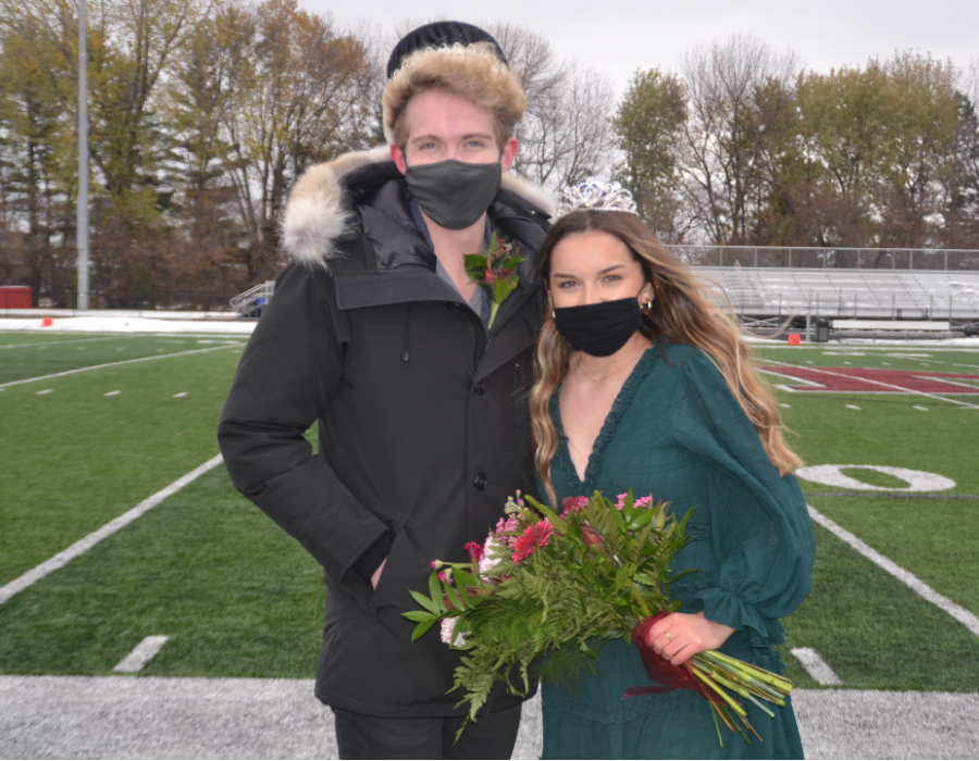 Homecoming King and Queen named