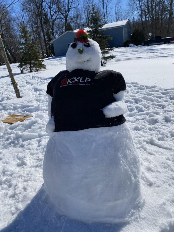 Other snowpeople submitted to contest
