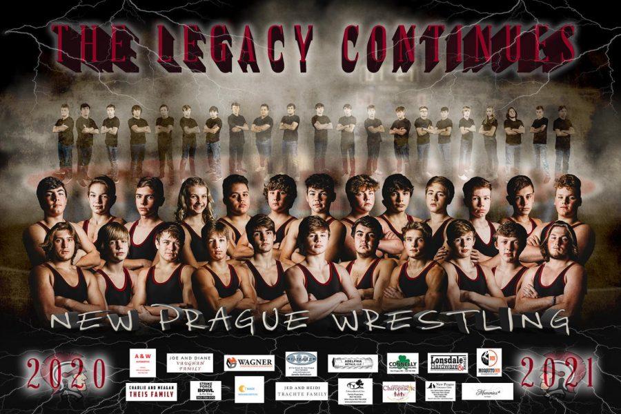 2021 Wrestling Team poster