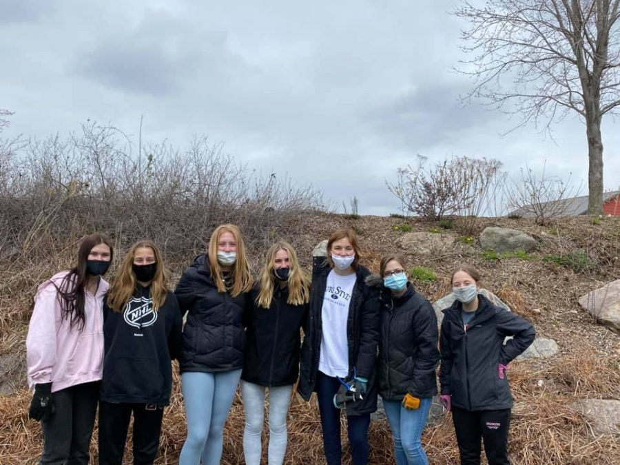 NPHS+groups+celebrates+Earth+Day