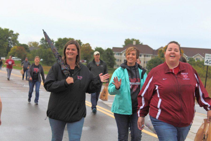 NPHS Staff: Mrs. Olson, Ms. Schroeder and Ms. Meyer