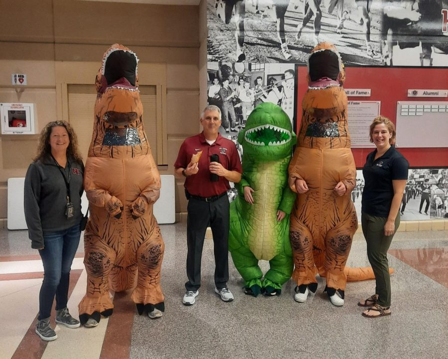 Dinosaurs are not extinct at NPHS