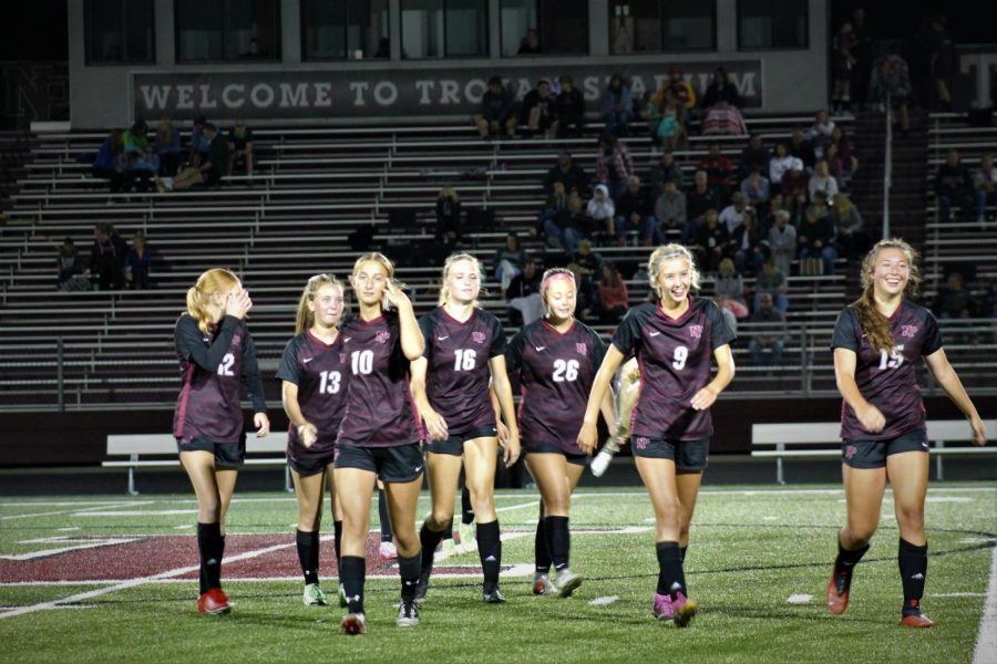 Girls soccer plays for section title